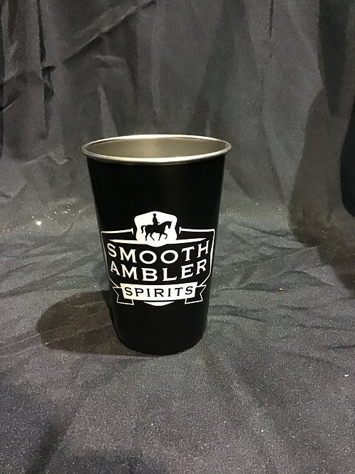 Stainless pint glass