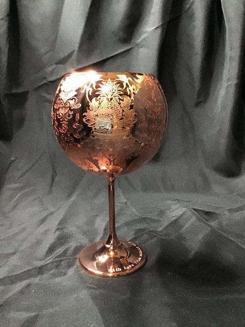 Copper ballon glass