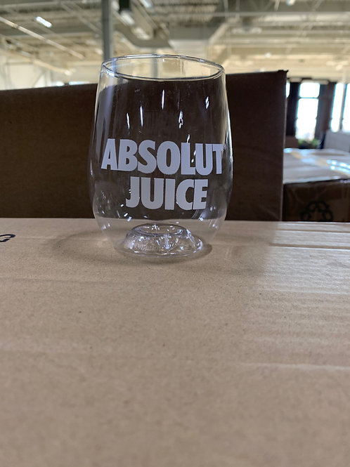 Absolut Juice cups/glasses