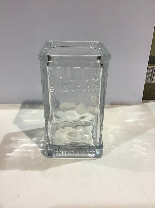 Square cocktail glass
