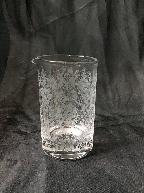 Damask mixing Glass