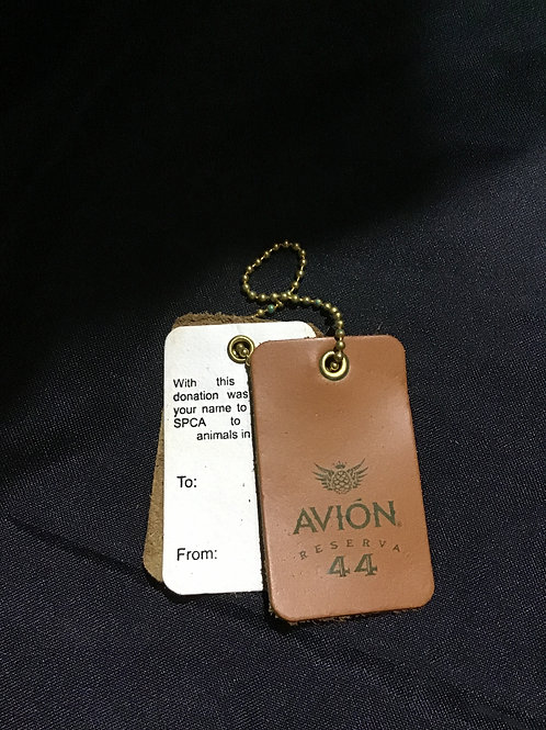 Reserva 44 Leather SPCA bag tags