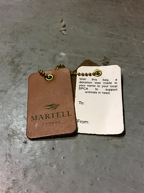 Martell bag tags