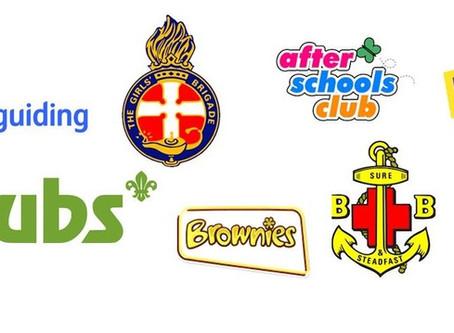 After school Clubs & Uniform Groups!