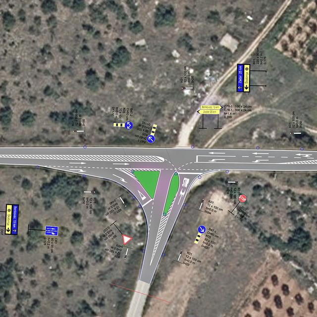 Rekonstrukcija raskrižja državne ceste oznake DC56 i županijske ceste oznake ŽC6044
