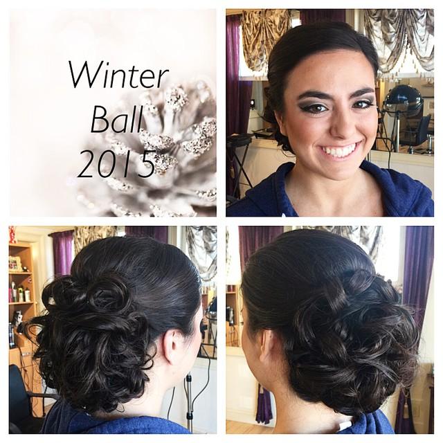 Instagram - Winter ball at @amoresalon 💄 #kiaramooneyhmua #beautybykiki #makeup
