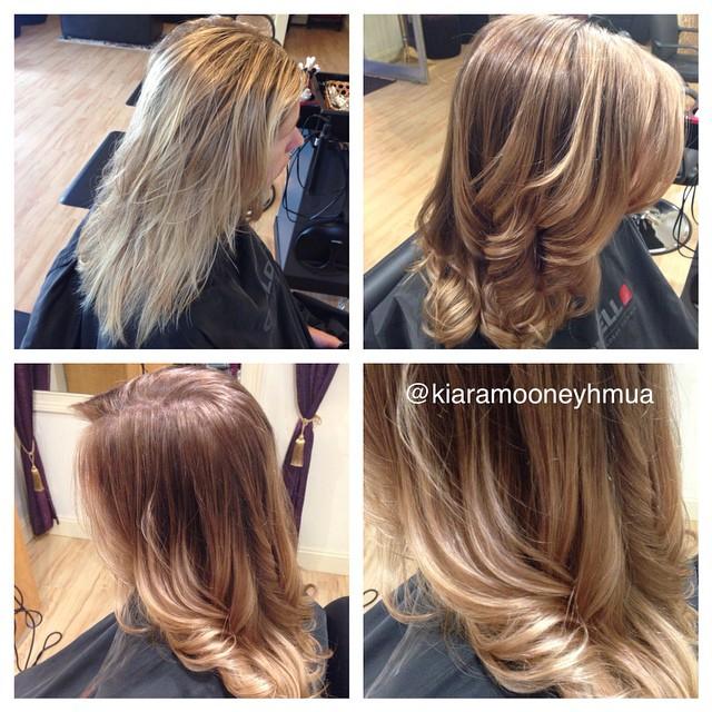 Instagram - Ombre love #nofilter #beauty #hairbykiara #kiaramooney #kiaramooneyh