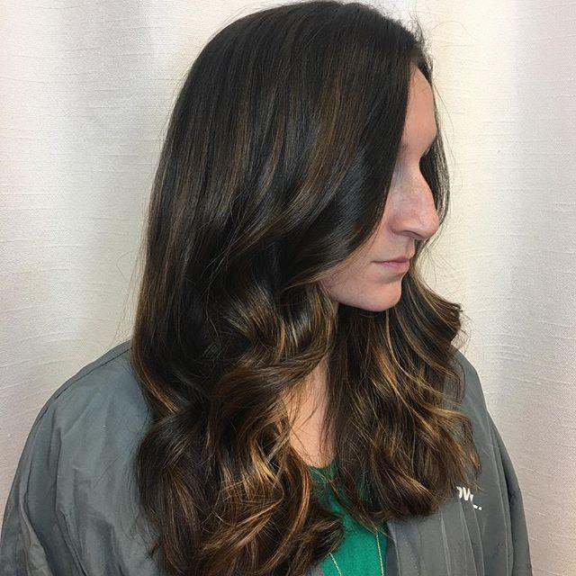 Hair goals 🙌🏼 Color, cut style by Kiara_ As always _olaplex is used . .