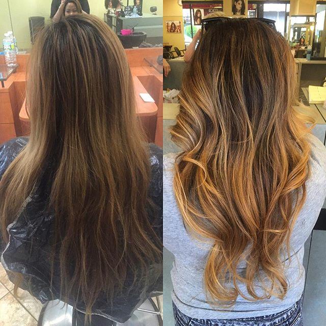 Hair by our one & only_ _hairby_kristarose #hair #haircolour #modernsalon #beauty #shinebrightlikead