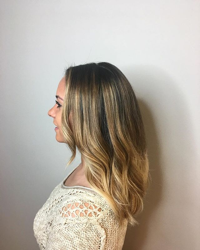 Ombré_!_ Balayage_!_ Who cares what it's called when you look this beautiful_!_ _olaplex used, as al
