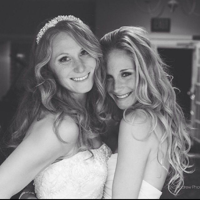 Instagram - My bride Christen & her bridesmaid Drea from last Saturday wedding �