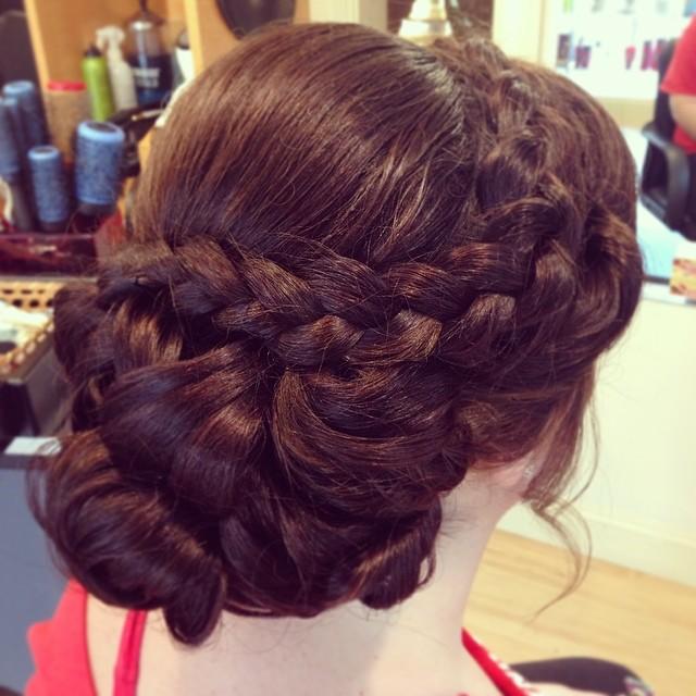 Instagram - Molly's prom updo #prom2014 #updo #kiaramooney #hairbykiara #amoresa