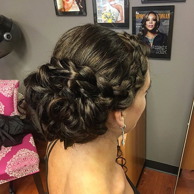 Wedding #2 in the salon today!!! Updo by Krista!  #salonlife #wedding #updos #kmsobsession #goldwell