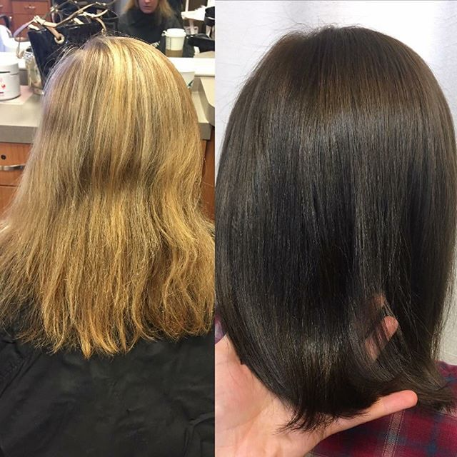 Makeover by _hairby_kristarose on Alicia! #kiaramooneyhmua #solaboston #solasalons #hairsalon #salon