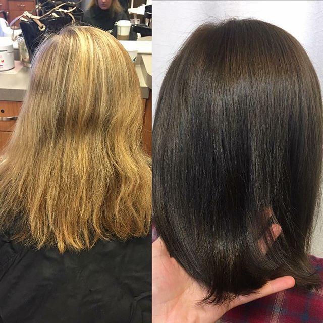 Makeover by _hairby_kristarose on Alicia! #kiaramooneyhmua #solaboston #solasalons #hairsalon #salon