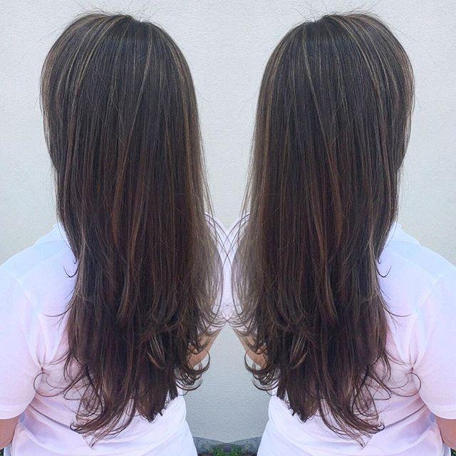 Long hair don't care 💁🏼💁🏻 Hair By_ Kiara #studio9 #modernsalon #beauty #haircolour #goldwellcolo