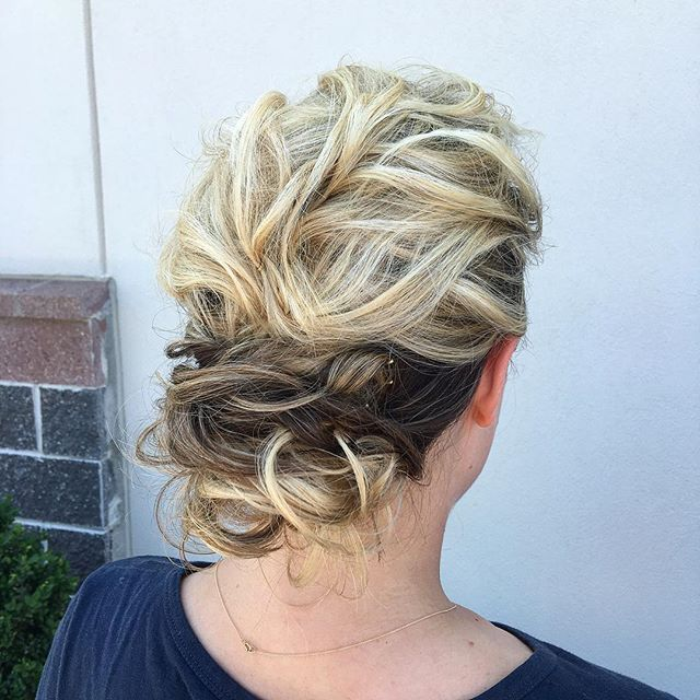 Wedding hair by_ Kiara!  Who do you call when you want hair & makeup services for your big day_!_ Ki