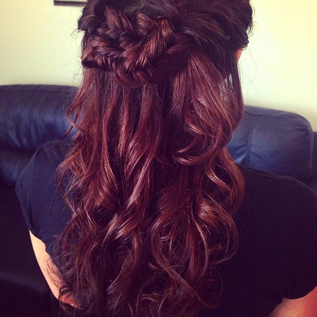 Instagram - Wedding updo 😘 #hairbykiara