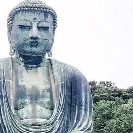 Kamakura Daibutsu, also known as the Gre