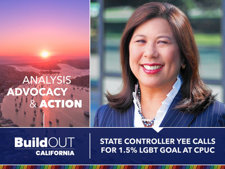 State Controller Yee calls for 1.5% LGBT goal at CPUC