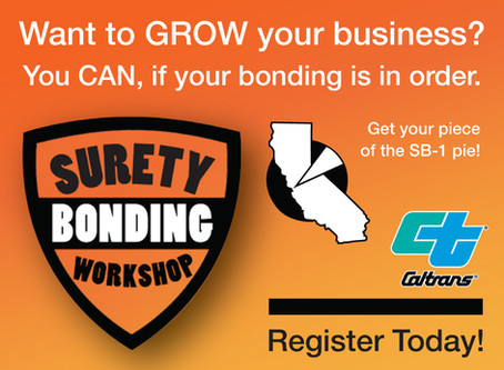 Caltrans Surety Bonding Workshop