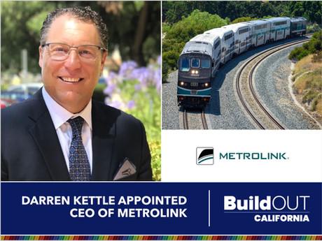 Darren Kettle appointed CEO of Metrolink