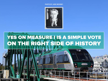 YES ON MEASURE I is a simple vote on the right side of history