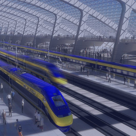 CALIFORNIA HIGH SPEED RAIL AUTHORITY/EARLY TRAIN OPERATOR CONTRACT