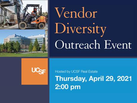 UCSF Vendor Diversity Outreach Event