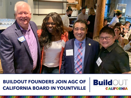 BuildOUT Founders join ACG of California Board in Yountville