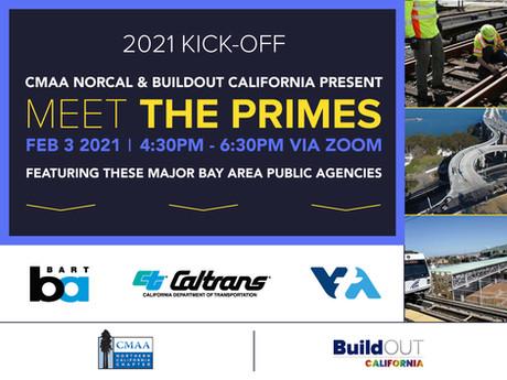 CMAA NorCal & BuildOUT California present: MEET THE PRIMES