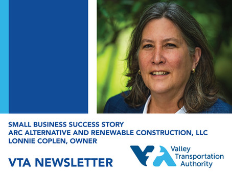 BOC Founder Lonnie Coplen featured in VTA Newsletter Feature
