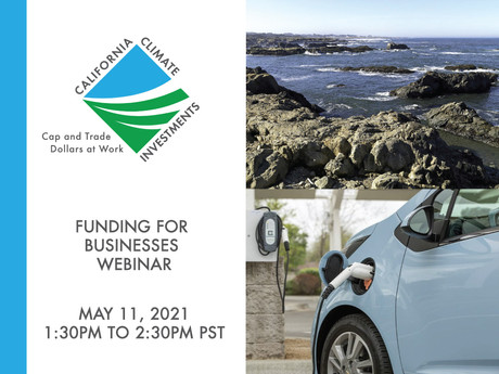 California Climate Investment Webinar: Funding for Businesses