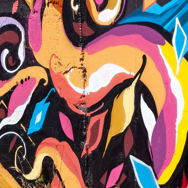 NEMBA - colorful local mural