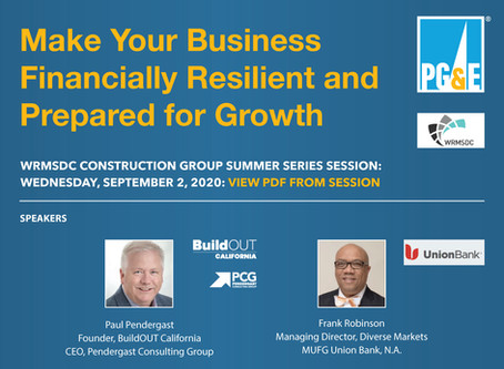 BOC part of WRMSDC Construction Group Summer Series Session