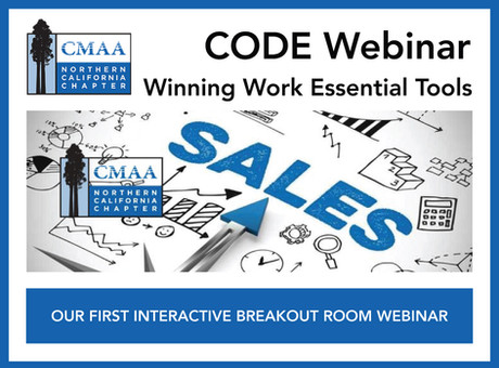 CODE Webinar - Winning Work Essential Tools