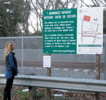 Friends of SMART supports the Jennings Avenue at-grade crossing