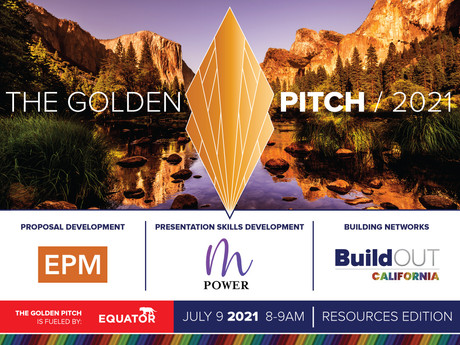 Join us for the Golden Pitch Resources Edition - this Friday, July 9 (8-9am)!