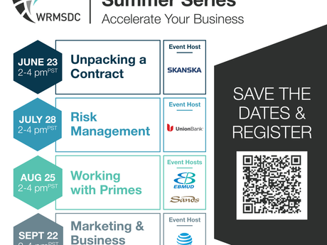 WRMSDC Summer Construction Series: July 28 / 2-4pm