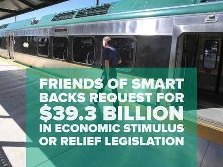 Friends of SMART backs request for $39.3 billion in economic stimulus or relief legislation