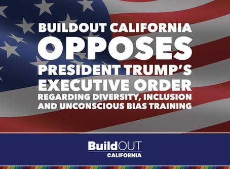 BuildOUT California Opposes President Trump's Executive Order
