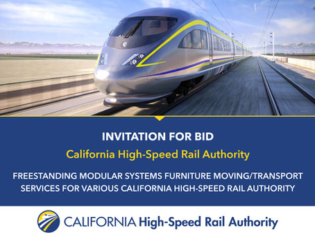 Invitation for Bid: California High-Speed Rail Authority