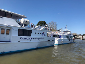 going out for a crouise of Gulf of Morbihan