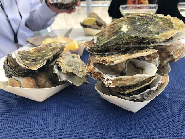 Oysters from Bretagne