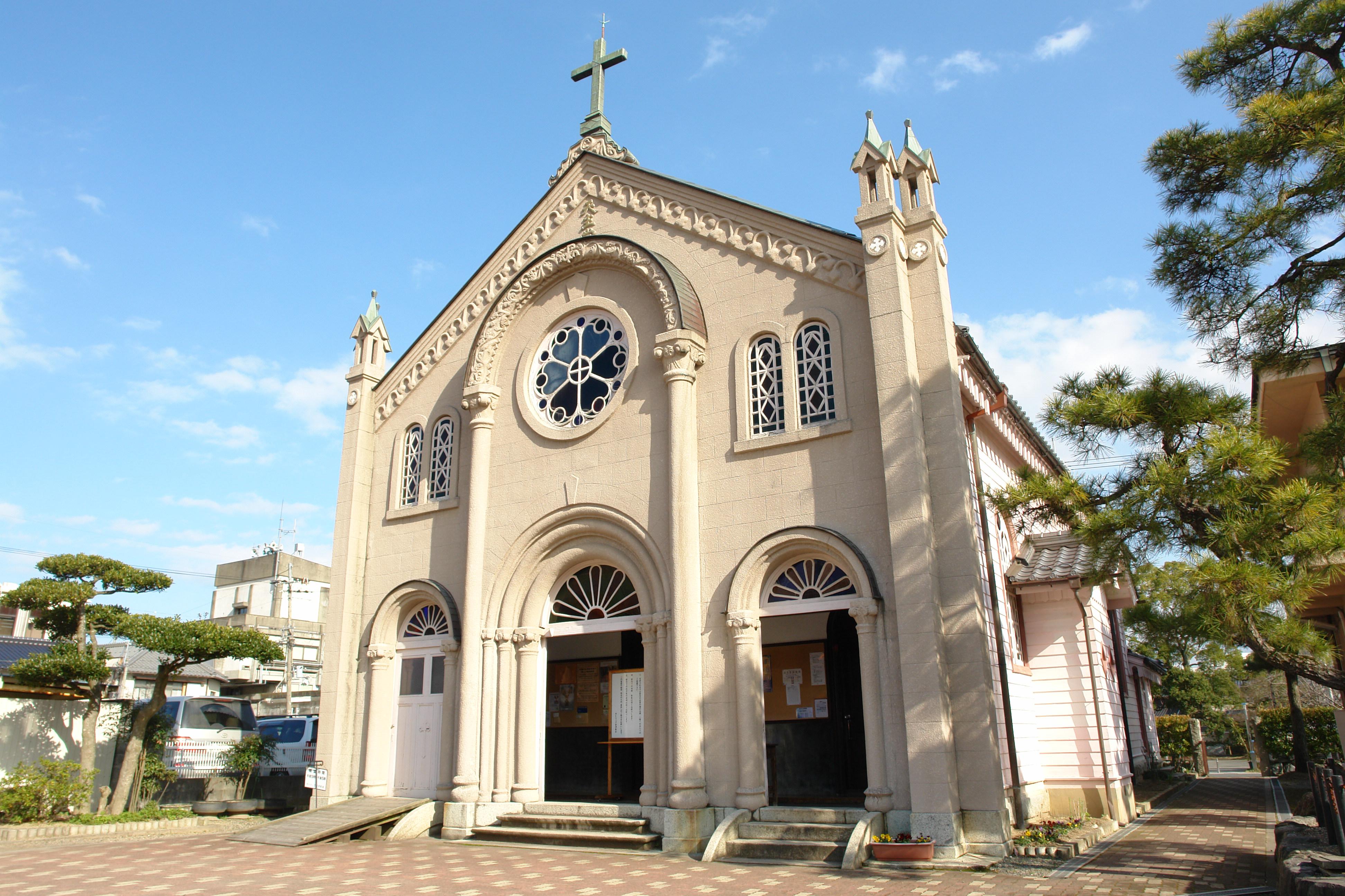 5カトリック宮津教会(外観)