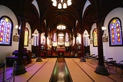 5カトリック宮津教会(内部)