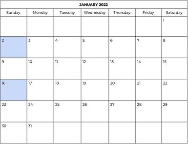 Markham - January
