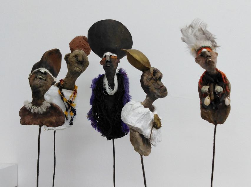 Un groupe de Nambias...