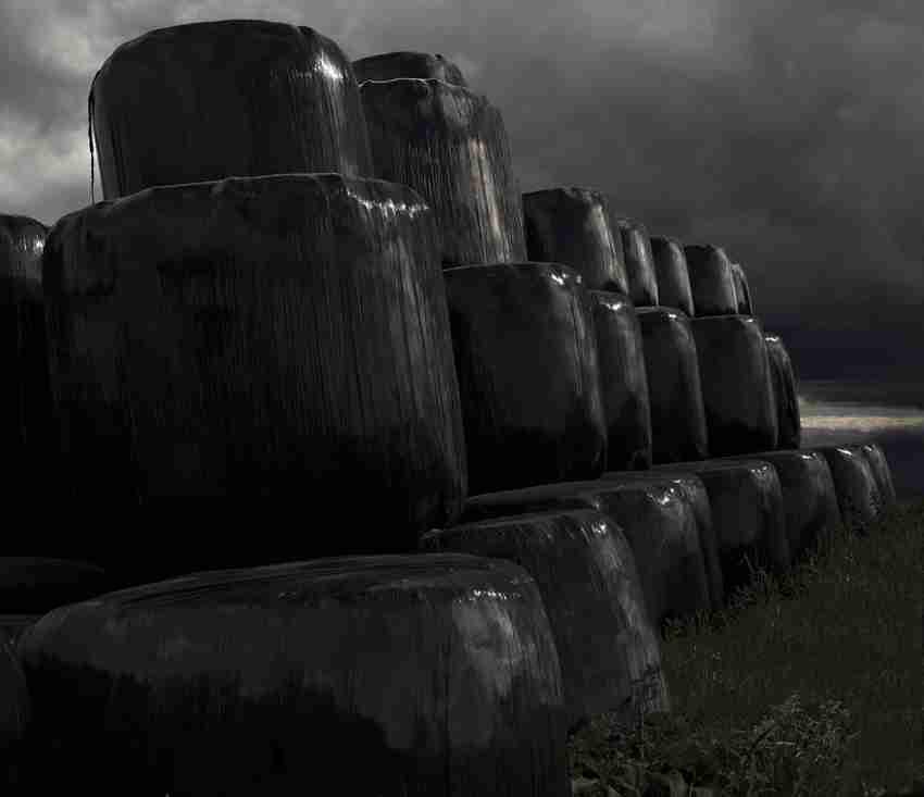 La tour noire sous l'orage