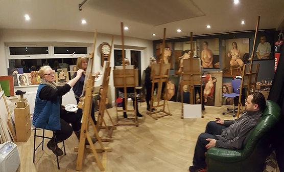 Art classes at Corner Studio in York